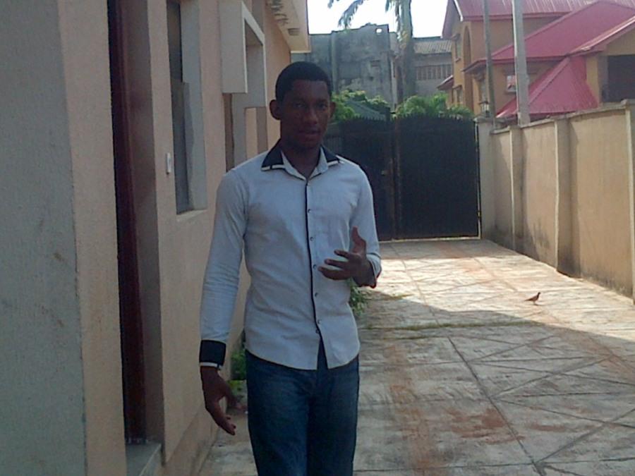 Babalola Femi, 36, Lagos, Nigeria