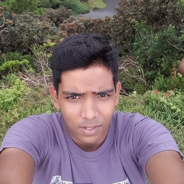 Kavish Luchmun, 23, Port Louis, Mauritius
