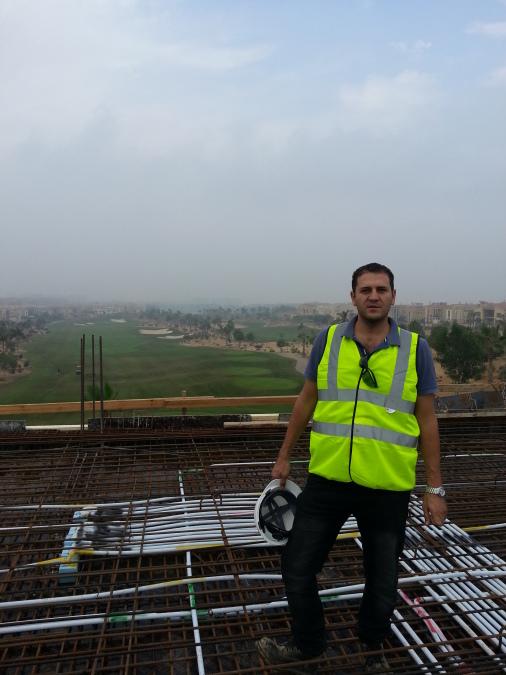 Mohamed Ghanem, 39, Cairo, Egypt
