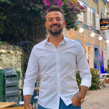 Ömer Celebi, 30, Antakya, Turkey