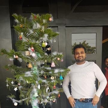 Pulkit Goyal, 28, Bathinda, India