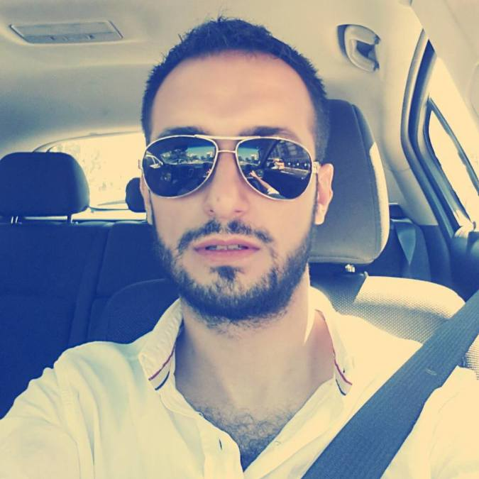 Cem Erbaşlı, 33, Izmir, Turkey