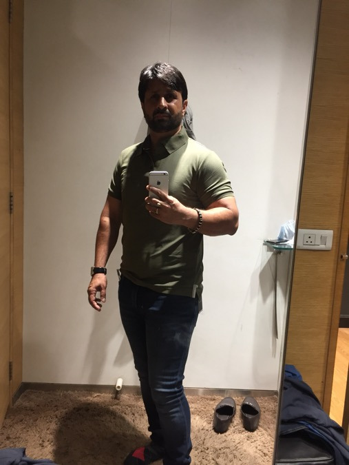 Hitesh, 41, Ahmedabad, India
