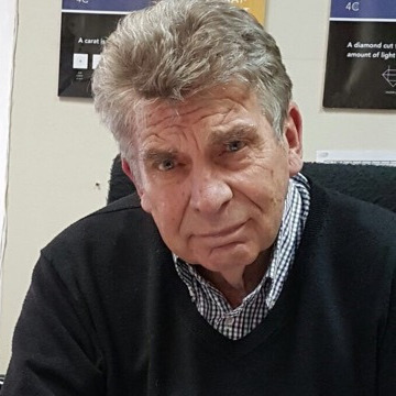 Marius Salvator Vermaak, 69, Johannesburg, South Africa