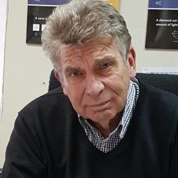 Marius Salvator Vermaak, 69, Johannesburg, South Africa