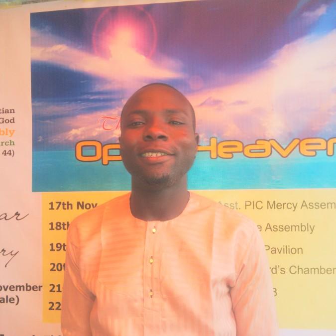 Akindele Tunde, 33, Lagos, Nigeria