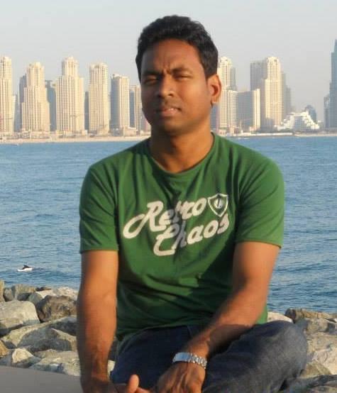 Bahirathan Rudran, 41, Dubai, United Arab Emirates