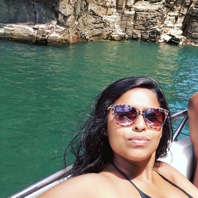 Jade Vasconcelos, 20, Itanhaem, Brazil
