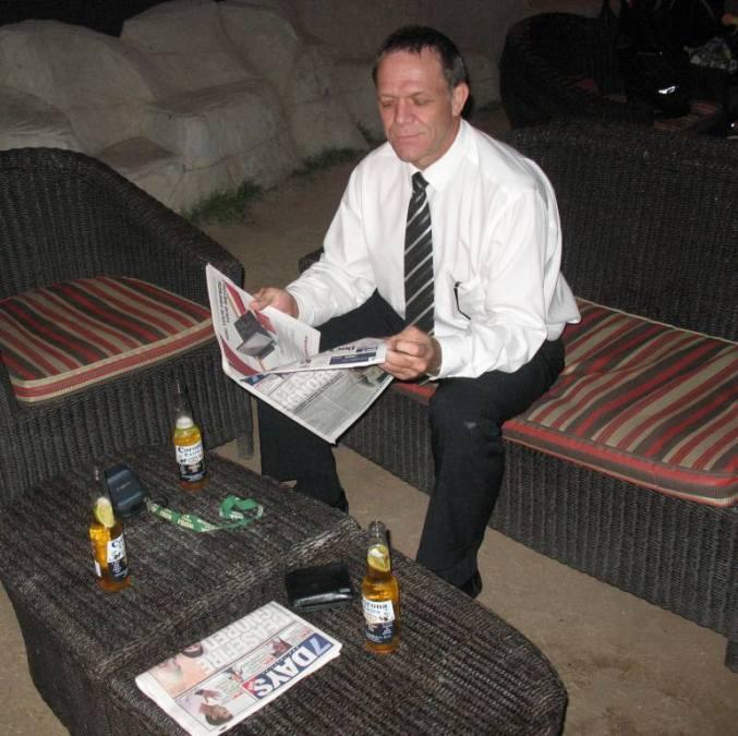 Daniel Williams, 61, Luanda, Angola