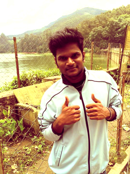 Dhanu David, 25, Chennai, India