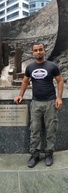 Aamir Muhammad, 33, Dubai, United Arab Emirates