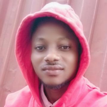 Lucky Oghenecaro, 30, Lagos, Nigeria