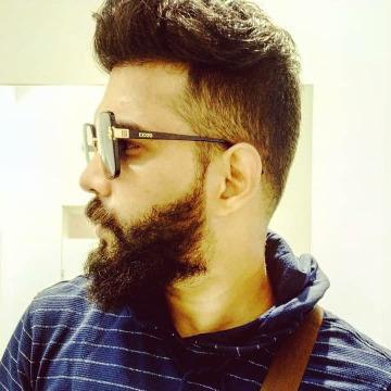 Thanseer k Jabbar, 27, Dubai, United Arab Emirates