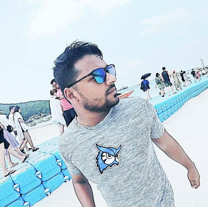 Raihan Ahmed, 28, Denpasar, Indonesia